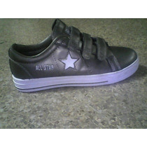 Zapatos Converse All Star One Star De Cuero Talla 38 Unico P