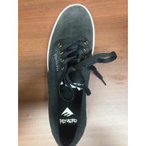 Zapatos Emerica Romero Negro Gamuza Nuevo Sin Caja