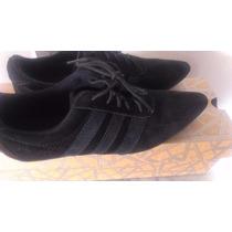 Zapato Negro De Gamuza Neutroni Talla 35 Bs10000