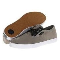 Zapatos Skate Dekline Modelo Daily Gris Talla 7-11