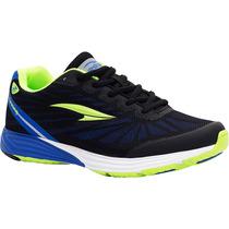 Zapatos Irradio Rs21 Para Dama (negro/azul Rey)