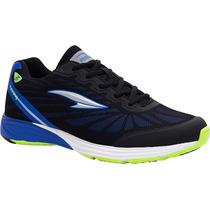 Zapatos Irradio Rs21 Para Caballero (negro/azul Rey)