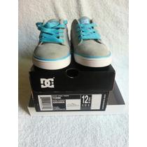 Zapatos Dc Shoe Originales Nuevos Talla 30