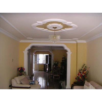 Molduras de yeso drywall y techos en escayola en - Molduras de techo ...