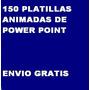 150 Plantillas Animadas Para Power Point Envio Gratis | SOLUCION.ML