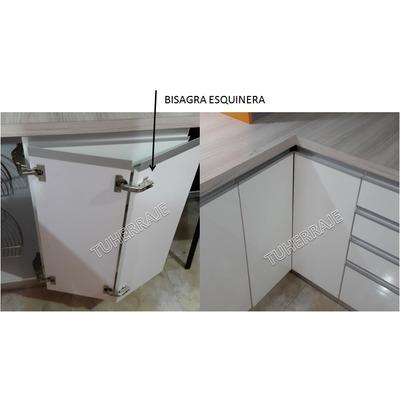 Bisagra esquinera g grass cocinas empotradas par bs f - Bisagras para puertas de cocina ...