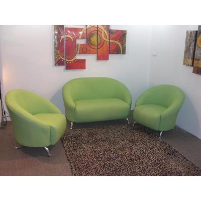 Juego de muebles viviana sofa 2 ptos 2 poltronas bs - Sillones para espacios reducidos ...