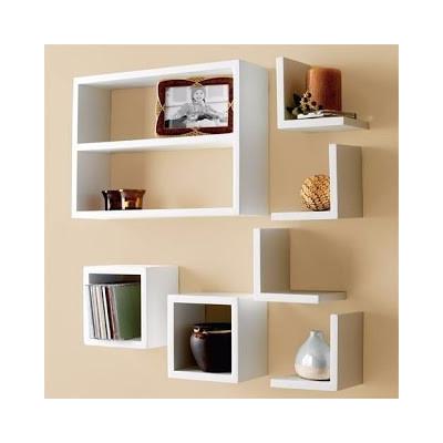Repisas estanter as modernas minimalistas decorativas for Minimal art vzla