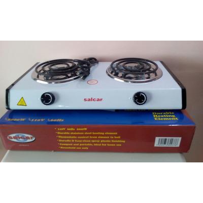 Cocina el ctrica 2 hornillas 110v 2000w salcar nueva bs f for Precio cocina nueva