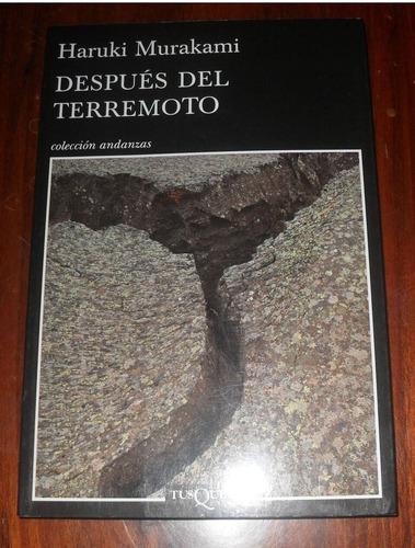 Haruki Murakami - Después Del Terremoto