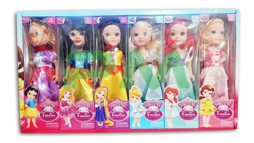 Princesa-De-Disney-Muneca-25-Cm-My-First-Fashion-Juguete