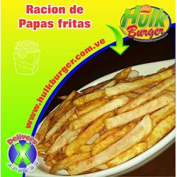 Racion de papas fritas