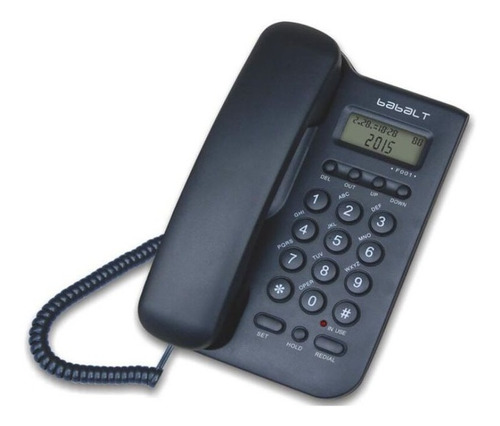 Pack-D-12-Telefono-Fijo-Alambrico-Babalt-Lcd-Caller-Id-Cantv