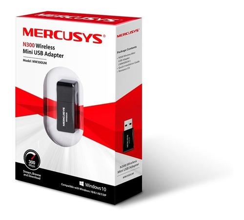 Adaptador-Mini-Wifi-Usb-Mercusys-300mbps-Mw300um-Internet