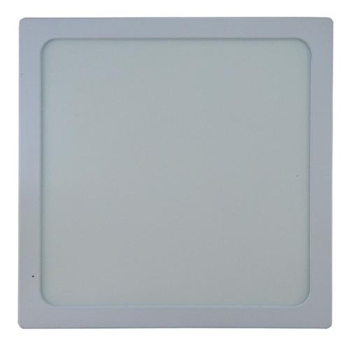 Lampara-Panel-Led-18w-Superficial-Techo-Cuadrada-Spot-Tienda