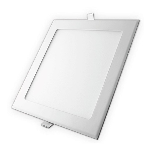Lampara-Panel-Led-12w-Techo-Cuadrada-Spot-Empotrar-Ultraplan
