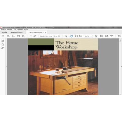 manual planos de muebles para herramienta del taller pdf