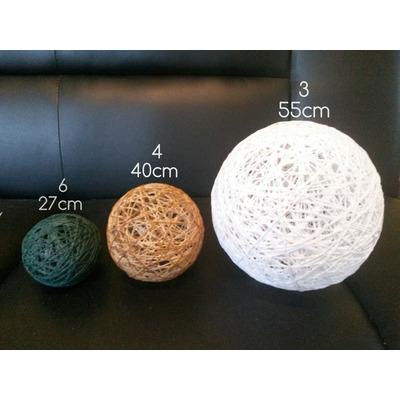 Adornos esferas bolas de hilo decoracion centro mesa combo - Bolas de hilo ...