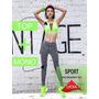Conjunto Licra Deportiva Fitness Verde  Mono+top Importado | ALLPLUSPC