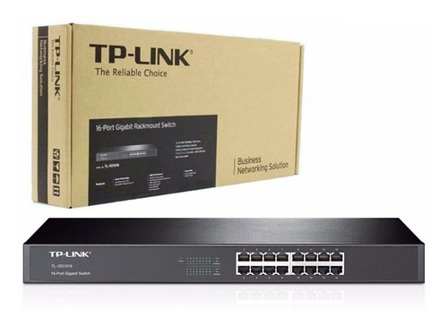 Switch-Tplink-16-Puertos-Para-Rack-10100-Tl-sf1016-Suiche