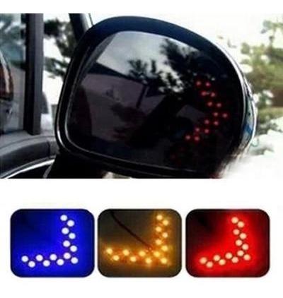 Luz-Led-Direccional-El-Par-Retrovisor-Carro-Tuning-Vehiculo