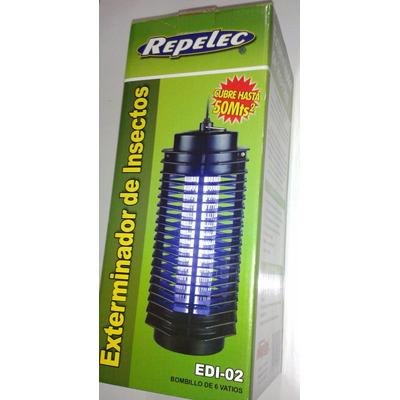Lampara mata moscas insectos repelec edi 02 hasta 50mtrs - Lampara mata mosquitos ...