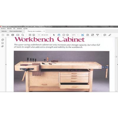 Manual planos de muebles para herramienta del taller pdf for Planos de muebles pdf