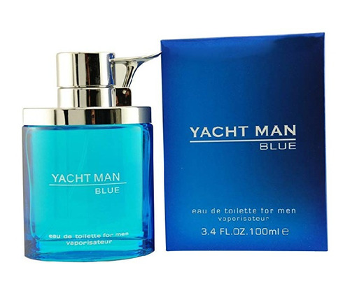 Perfume Yacht Man Blue 100 Ml 15