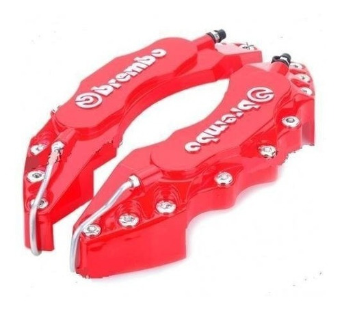 Cubre-Caliper-Brembo-Letras-3d-Todas-Las-Medidas-Rojo