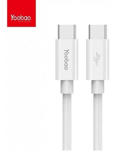 Cable-Yoobao-3-Usb-C-A-Usb-C-30-Yb-482-Pd-60w