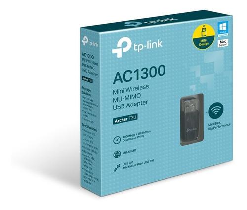 Adaptador-Usb-Wifi-Mu-mimo-Tplink-Archer-T3u-Ac1300