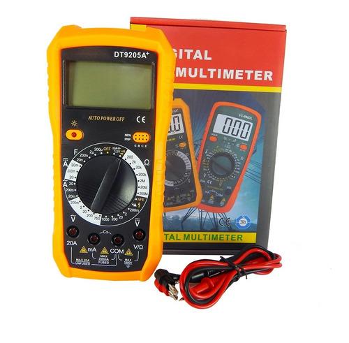 Multimetro-Digital-Tester-Lcd-Nuevo-Dt-9205a