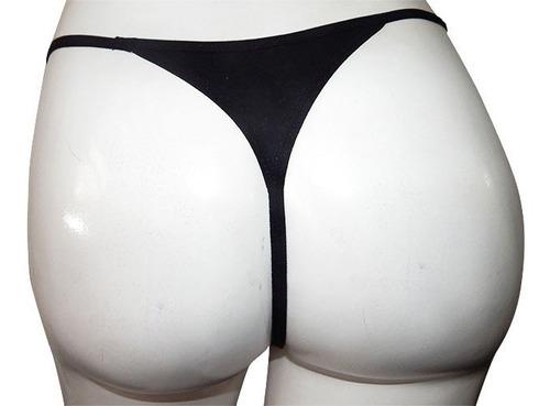 Semi-Hilo-Sexy-Tanga-Mujer-Excelente-Calidad-Pack-De-12