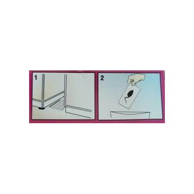Pega para roedores insectos en laminas adhesivas solo for Laminas adhesivas pared