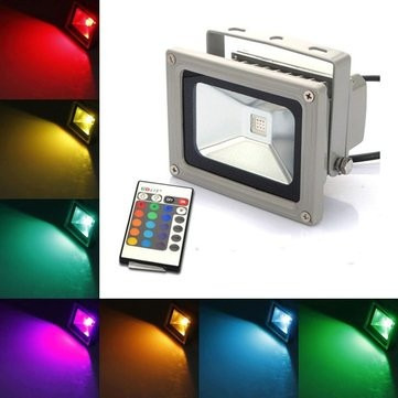 Reflector-Led-10w-Rgb-Full-Color-Control-Remoto-Multi-Color