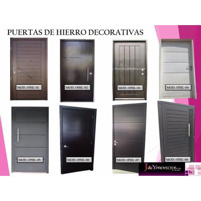 Puertas De Metal Para Casas. Puerta Francesa Rejas Para Casas ...