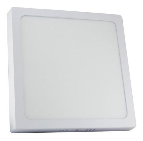Lampara-Panel-Led-24w-Superficial-Techo-Cuadrada-Spot-Tienda