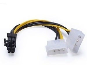 Cable-Adaptador-8-Pin-A-Dual-Molex-2-Und-Gpu-Tarjeta-Video