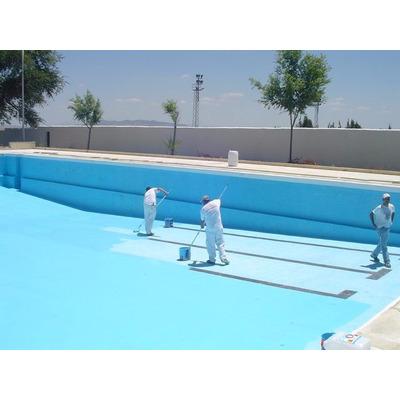 Pintura para piscinas azul loxon galon bs vdygq for Se puede fumar en piscinas