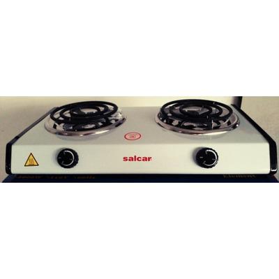 Cocina electrica 2000w 2 hornillas portatil alta calidad bs en mercado libre - Cocina electrica portatil ...
