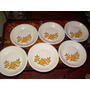 Juego De 6 Plato De Porcelana Sologne Made In France Hondo | ARENGIFO712