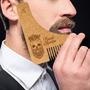 Peine Para La Barba, Con Guia (plantilla) Para Corte Stencil | NETMATURIN