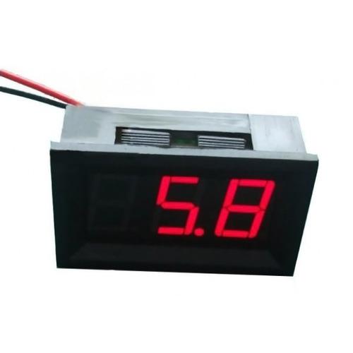 Medidor-Digital-Voltimetro-Panel-Led-Carro-30v-Lcd-Rojo