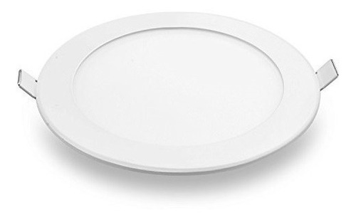 Lampara-Panel-Led-12w-Techo-Circular-Spot-Empotrar-Ultraplan