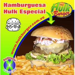Hamburguesa Pollo Hulk