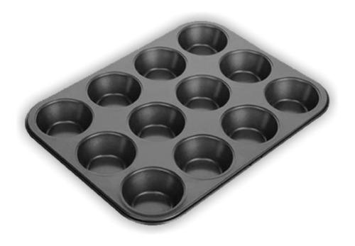 Bandeja-Molde-Cupcake-Ponquesitos-12-Capacillos-Antiadherent