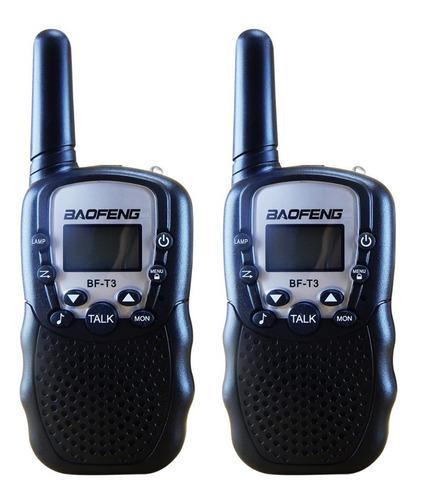 Radio-Portatil-Baofeng-T3-Walkie-Talkie-3km-Transmisor-Par