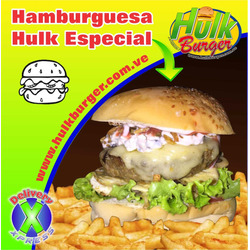 Hamburguesa Hulk