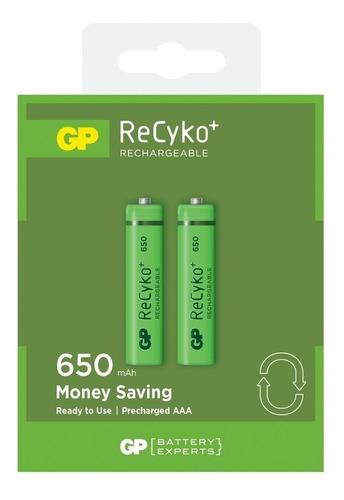 Bateria-Recargable-Aaa-Gp-Recyko-650mah-Pila-Pack-2