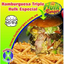 Hamburguesa triple hulk